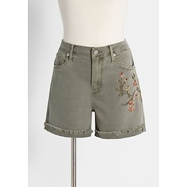 On The Grow Embroidered Shorts