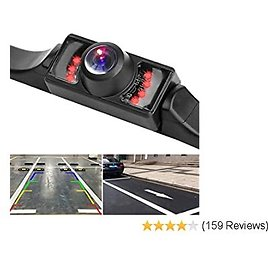 Reversing Aid Guildlines Waterproof Car Rear View Camera with 140 Degree Wide View Angle Xeapoms Backup Rear Camera