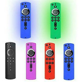 5.9inch Remote Case Protective Cover SiliconeSkin for Fire Stick 4K Cover H7