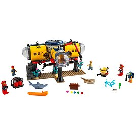 Ocean Exploration Base 60265 | City | Buy Online At The Official LEGO® Shop US