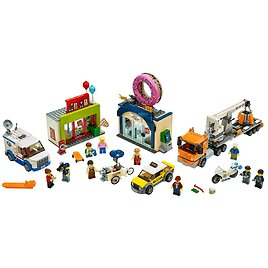 Donut Shop Opening 60233 | City | Buy Online At The Official LEGO® Shop US