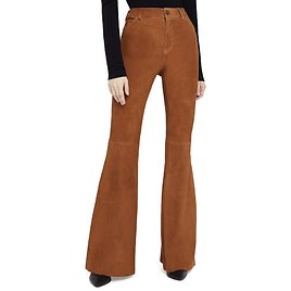 BRENT HIGH WAISTED SUEDE PANT