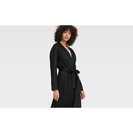 LONG-LINE OPEN-FRONT CARDIGAN