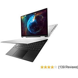 Dell XPS 13 7390 2-in-1 Convertible 13.4-inch FHD InfinityEdge Touchscreen Laptop (Silver) Intel Core I7-1065G7 10th Gen, 32GB RAM, 512GB SSD, Windows 10 Home (XPS7390-7954SLV-PUS)