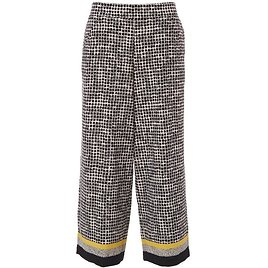 Womens Dotted Print Capris
