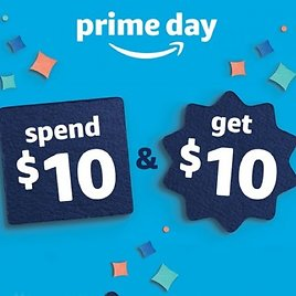 Free $10 Prime Day Credit Offer