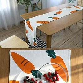 Cotton Table Runner Tablecloth Placemat Mat Table Cover Kitchen Tea Dining Decor