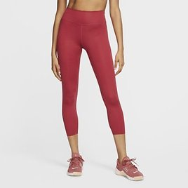 Nike One Luxe Women's Mid-Rise Cropped Tights.