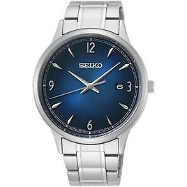 Seiko Mens Watch with Stainless Steel Bracelet SGEH89P1
