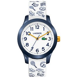 Lacoste Kids 12.12 White Silicone Strap Watch 32mm & Reviews - All Kids' Accessories - Kids