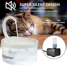 Automatic Electric Pet Water Fountain Dispenser Drinking Bowl For Cat Dog