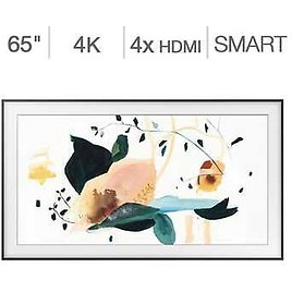 """Samsung 65"""" Class - The Frame Series - 4K UHD LED LCD TV - $100 Frame Art Store Subscription Credit Included"""