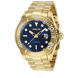 Invicta Pro Diver 27307 Men's Round Navy Blue Analog Date Automatic Watch 886678327690