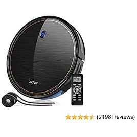 Robot Vacuum, GOOVI By ONSON 2100Pa Upgrade Robotic Vacuum Cleaner with Gyroscope, 2020