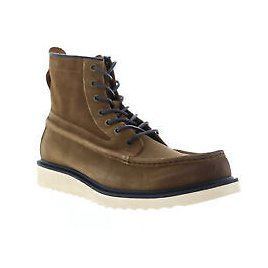 Frye Montana Moc 80643 Mens Brown Leather Low Top Lace Up Casual Dress Boots