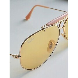 RAY BAN SHOOTER AMBERMATIC 2012 AVIATOR SUNGLASSES RB3138 PILOT NEW LIMITED ED