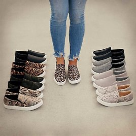 Cushioned Comfort Fashion Sneakers
