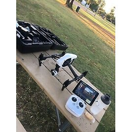 DJI Inspire 1 V2.0 Quadcopter - Comes With 4 Battery And Travel Case Remote