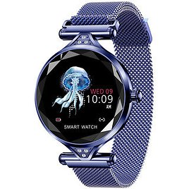 H1 Female Predict Menstrual Cycle Remind 1.04inch Dynamic Heart Rate Monitor Smart WatchSmart Wearable Device