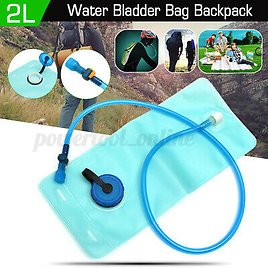 2L Mouth Hydration Water Bladder Bag for Sports Bike Camping Hiking Climbing