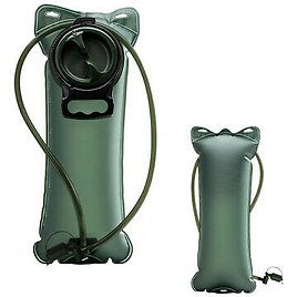 2L Water Bladder Bag Hydration System Backpack Survival Pack Camping Hiking USA 721469871214