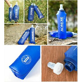 AONIJIE TPU Water Bag Foldable Drinking Backpack for Outdoor Fitness Sports 1-3L