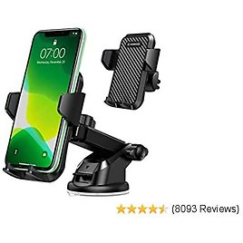 Universal Adjustable Dashboard Cell Phone Holder with HUD Simulating Design Zonefly Car Phone Mount with HUD Display