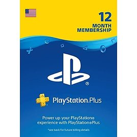 PlayStation Plus: 12-Month Subscription US/Canada (Digital Code)