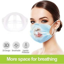 3D PRINTED MASK FRAME Breathing Smoothly And Cool Mask Holder Breathable Health