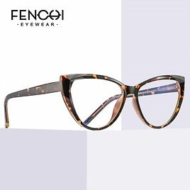 US $9.4 53% OFF FENCHI TR90 Cat Eye Clear Computer Glasses Anti Blue Light Blocking Glasses Frame Filter Transparent Gaming Goggles Eyewear Women's Blue Light Blocking Glasses  - AliExpress