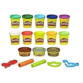 Play-Doh Bulk Dinosaur Colors 13-Pack of Non-Toxic Modeling Compound