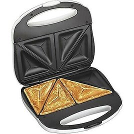 Sandwich Toaster Maker Grilled Cheese Panini Press Electric White 163120781041