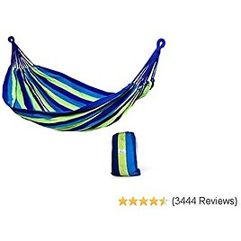 Hammock Sky Brazilian Double Hammock - Two Person Bed for Backyard, Porch, Outdoor and Indoor Use -Prime Deal