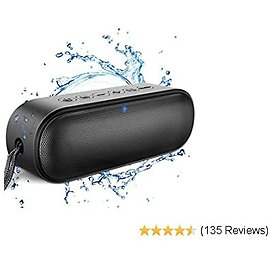 Bluetooth Speaker, Waterproof Portable Speakers Wireless with 14W HD Sound, IPX7 Waterproof, Rich Bass with Built-in Mic for IPhone, Home, Shower, Outdoors and Travel
