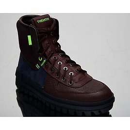 Nike Xarr Men's Obsidian Burgundy Casual Lifestyle Shoes Fall Winter Boots