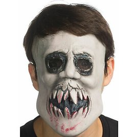 Kiss Mask With Mesh Eyes The Purge Horror Movie 3 Election Year Creepy Anarchy