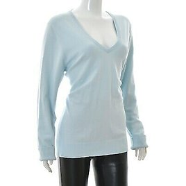 Tommy Hilfiger Womens V-Neck Pullover Sweater Shirt Long Sleeve Size XXL Genuine