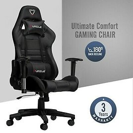 Gaming Computer Chair Office 180 Degrees For Faux Leather Racer ( FREE SHIPING )