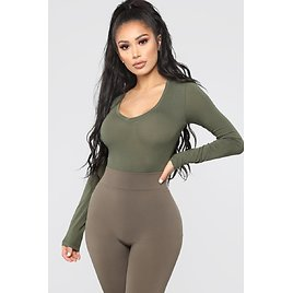 Your Everyday Long Sleeve Tee - Olive
