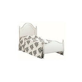 Bed 1 Square 11431 White Lacquered Cm100x212xH Full 135