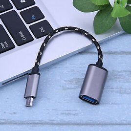 Micro USB OTG Cable Adapter for Tablet PC Mouse Android Mobile Phone Samsung New