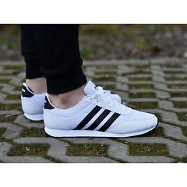 Adidas V Racer 2.0 B75796 Mens Trainers Size 11.5 UK New White Shoes