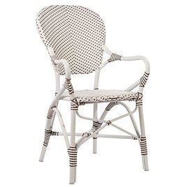 Isabell Outdoor Armchair, White