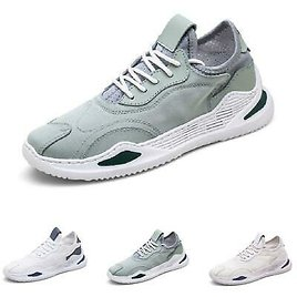 Mens Gym Trainer Outdoor Walking Jogging Tennis Casual Leisure Sneakers Shoes B