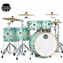 Mapex Armory Series 6 Piece Studioease Fast Drum Set Shell Pack Ultramarine New 841089106906