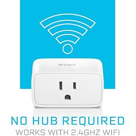 D-Link Mini WiFi Smart Plug, Control From Anywhere