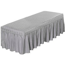 Massage Table Skirt Facial Salon Spa Tattoo Bed Valance Sheets Cover 180x60cm