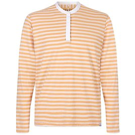 Firefly Long Sleeve Polo In Amber