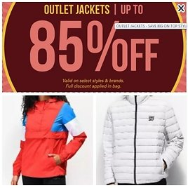 Cheap Jackets with Clearance Prices in The Outlet