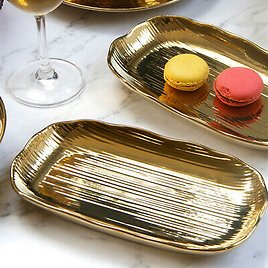 1x Cake Desserts Fruit Plate Ceramic Candy Plates Stand Serving Tray